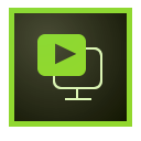 Pictogram van Adobe Presenter Video Express