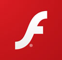 Logo identificativo de Flash Player